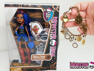 Robecca Steam - Steampunk Bracelet Tutorial - Monster High
