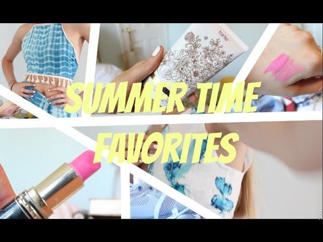 SUMMER FAVORITES. ESSENTIALS 2015 (DIY Green Tea Latte, Nike, DressGal, Dewy Makeup) ad