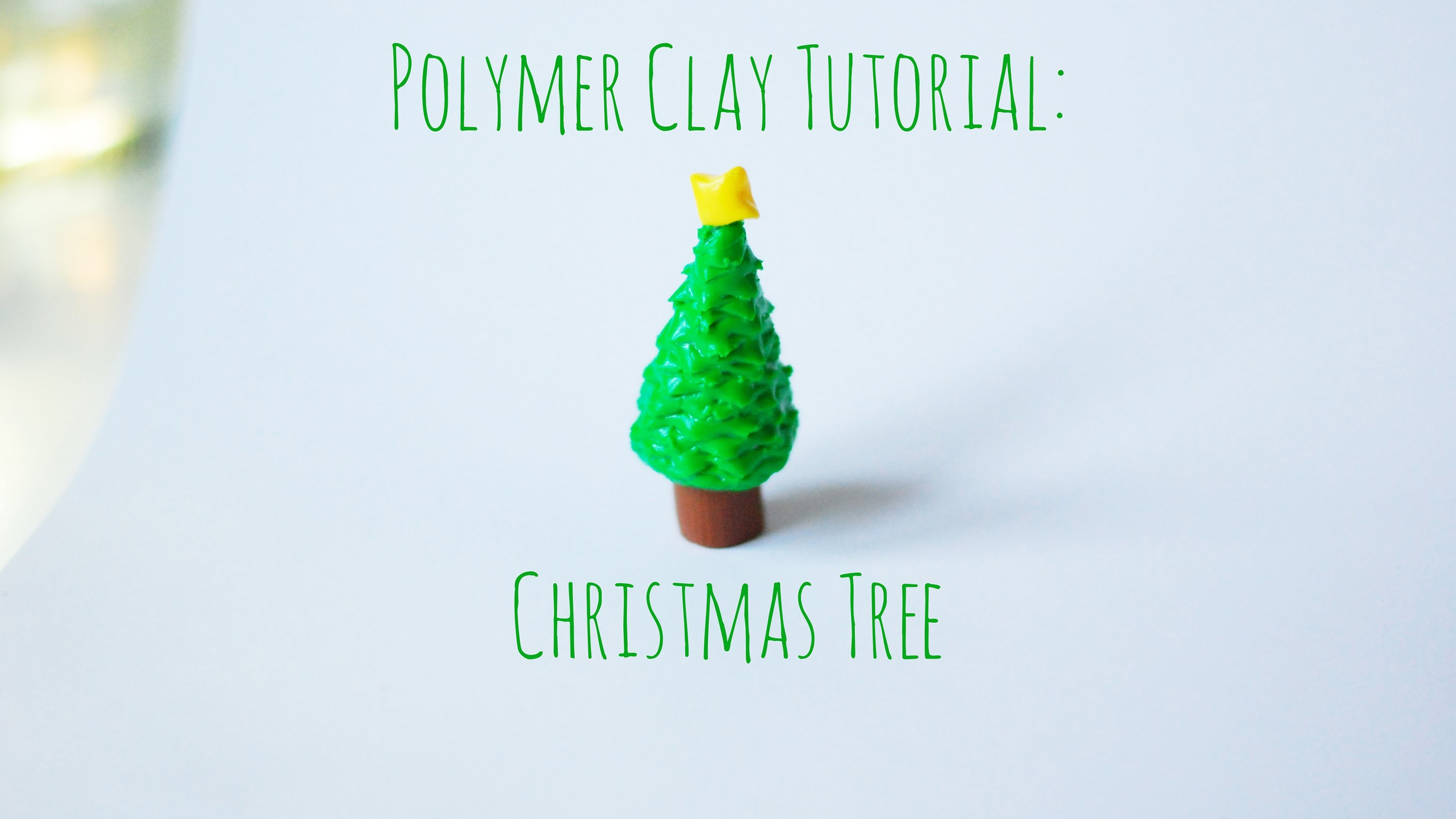 Tutorial - Polymer Clay Christmas Tree