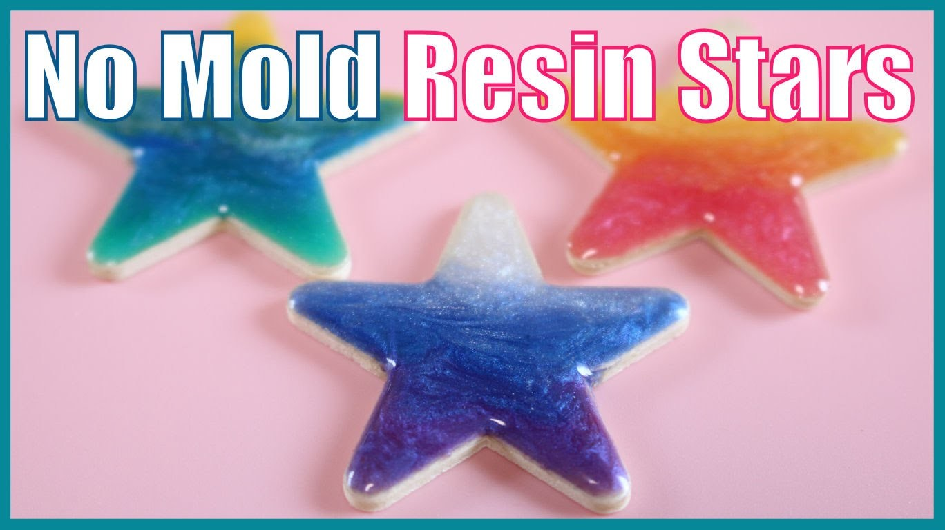 [UV Resin] Easy No Mold Star Tutorial