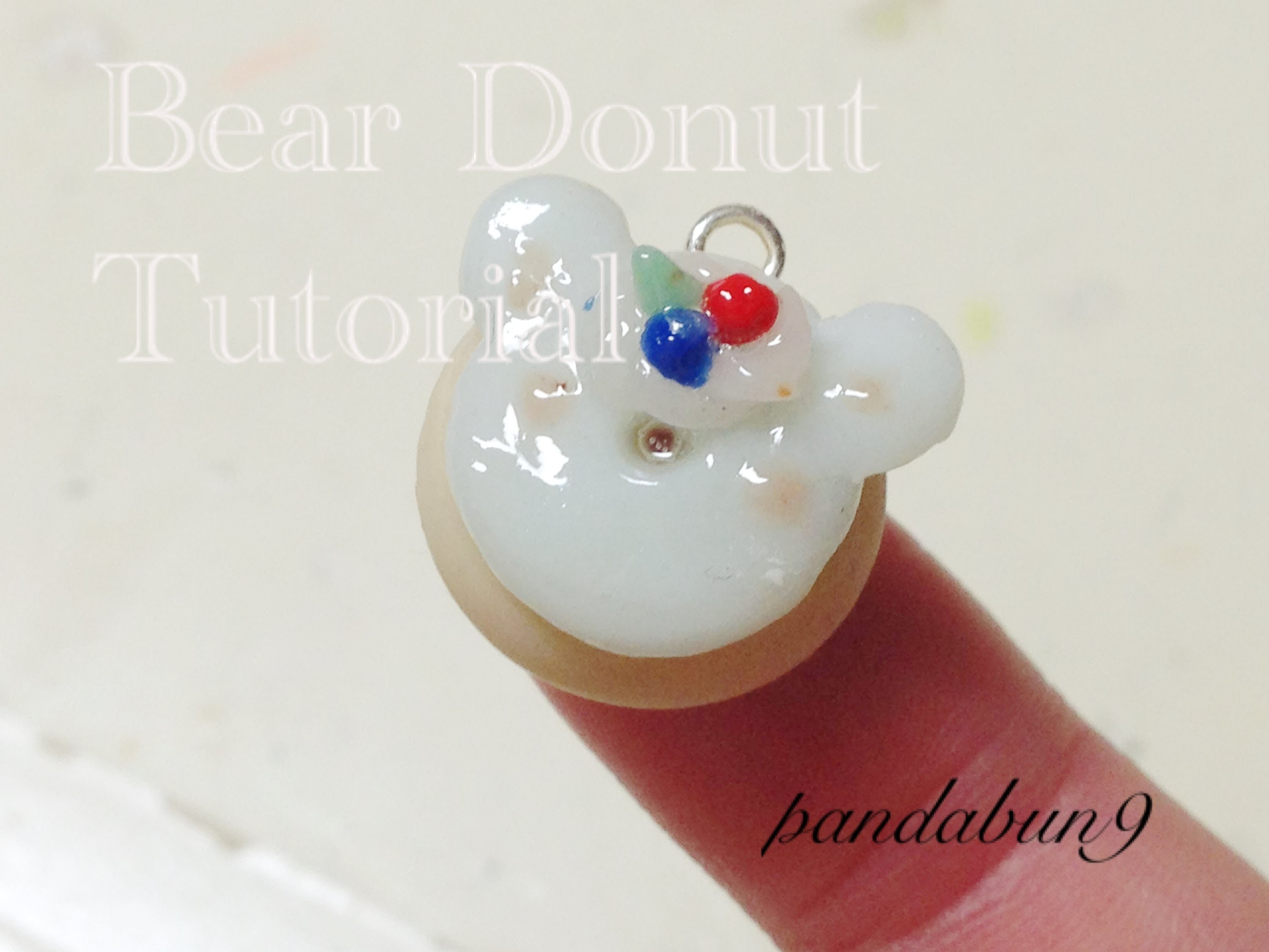 Bear Donut Charm Tutorial