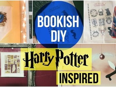 BOOKISH DIY | harry potter inspired