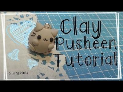{Clay Pusheen Tutorial}||Crafty Mints