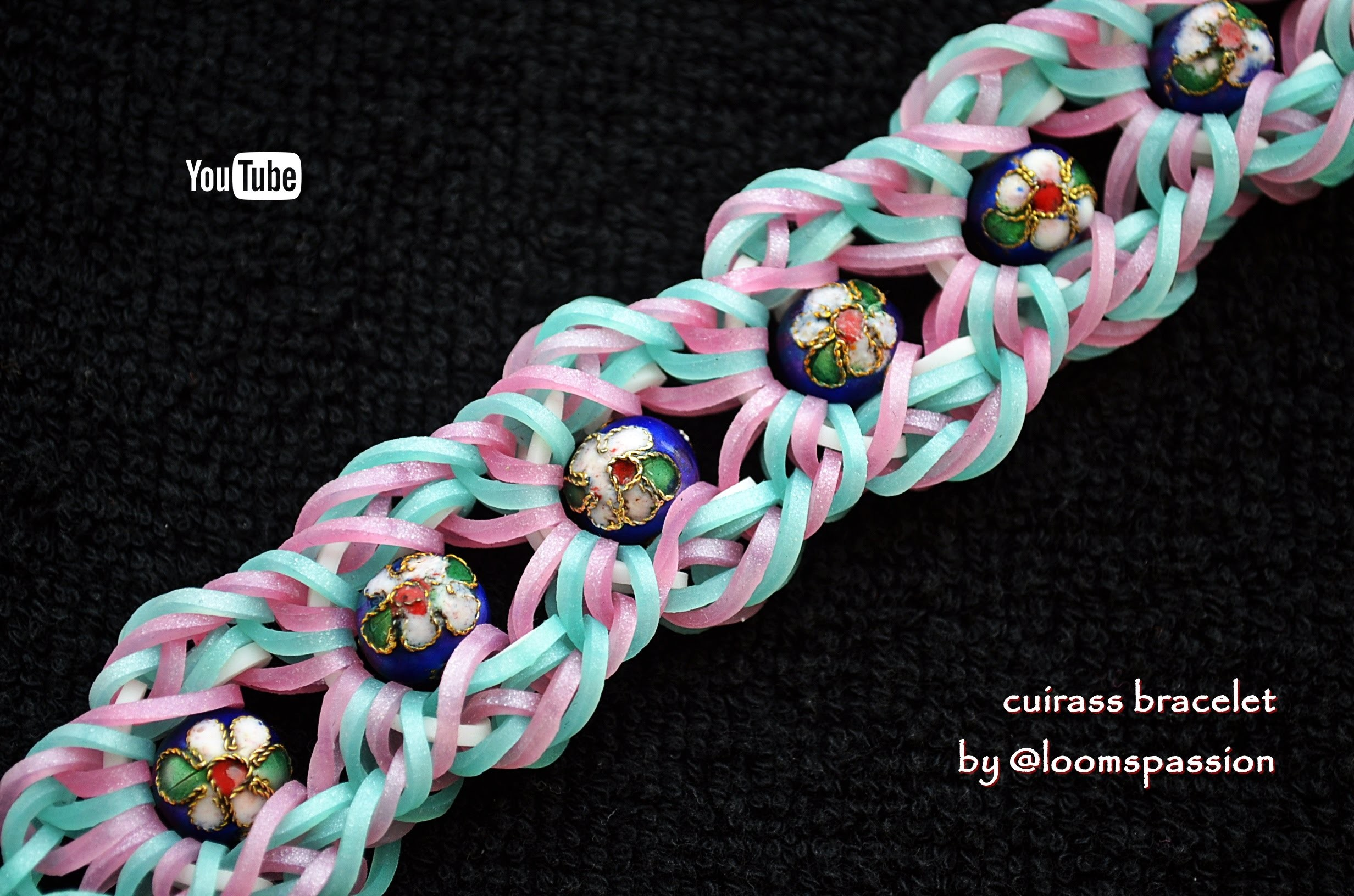 CUIRASS BRACELET HOOK ONLY DESIGN TUTORIAL