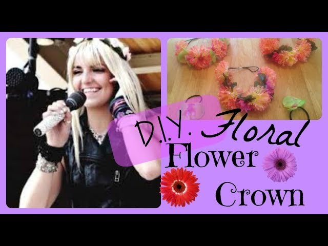 D.I.Y. Rydel Lynch R5 Easy Floral Flower Crown