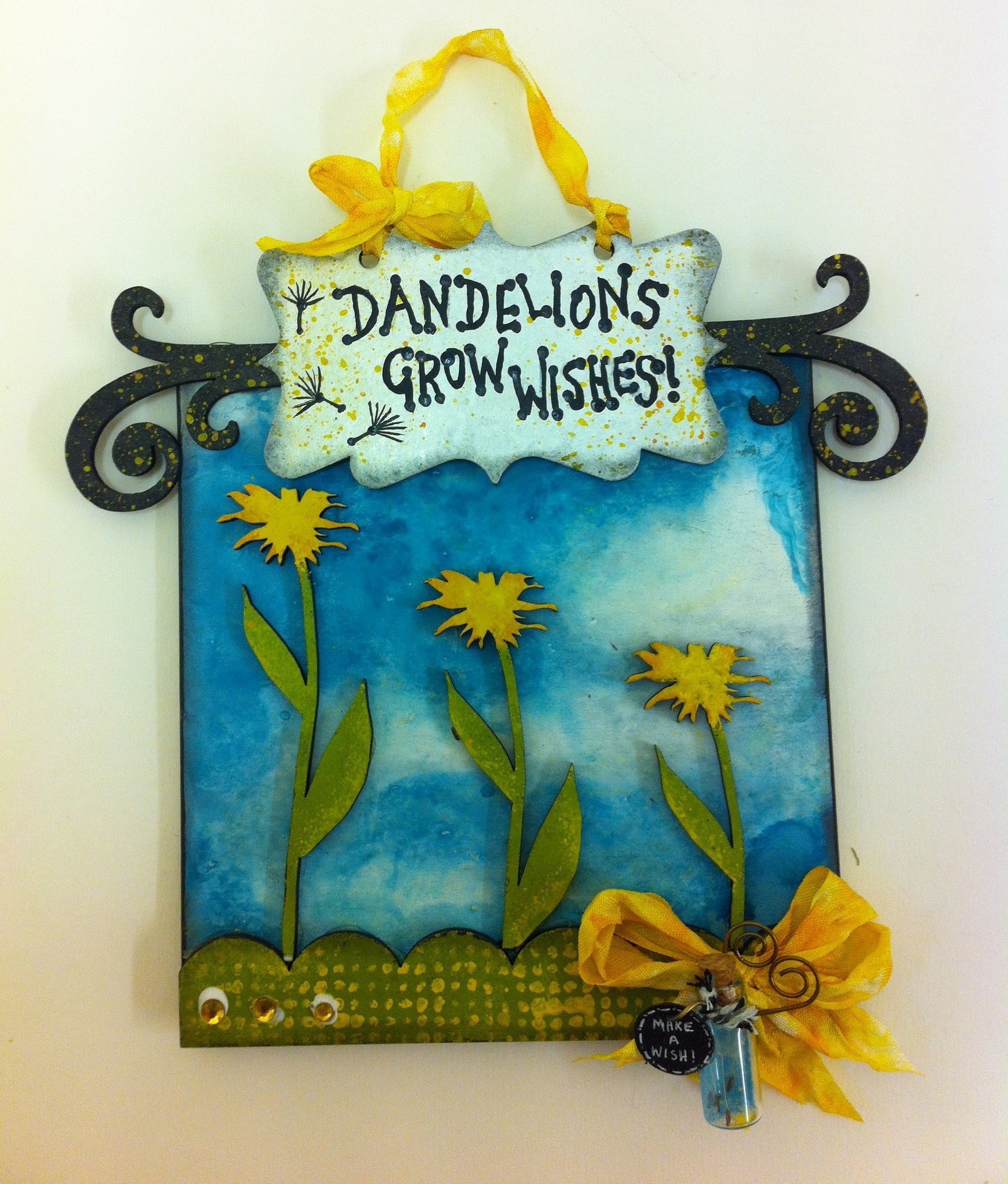Dandelion Wishes - Home Decor Project Tutorial