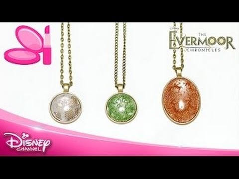 Disney The Evermoor Chronicles  ♥  Accessorised Tutorial Necklace