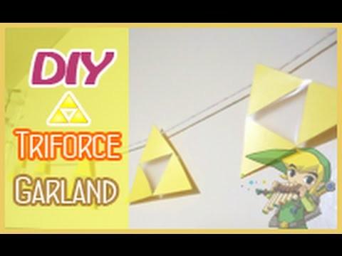 DIY Garland Triforce