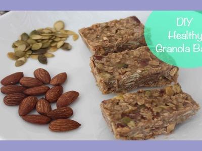 DIY Healthy Granola Bars