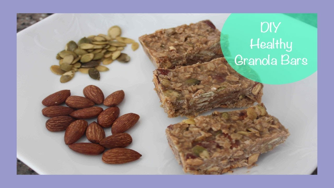 DIY Healthy Granola Bars