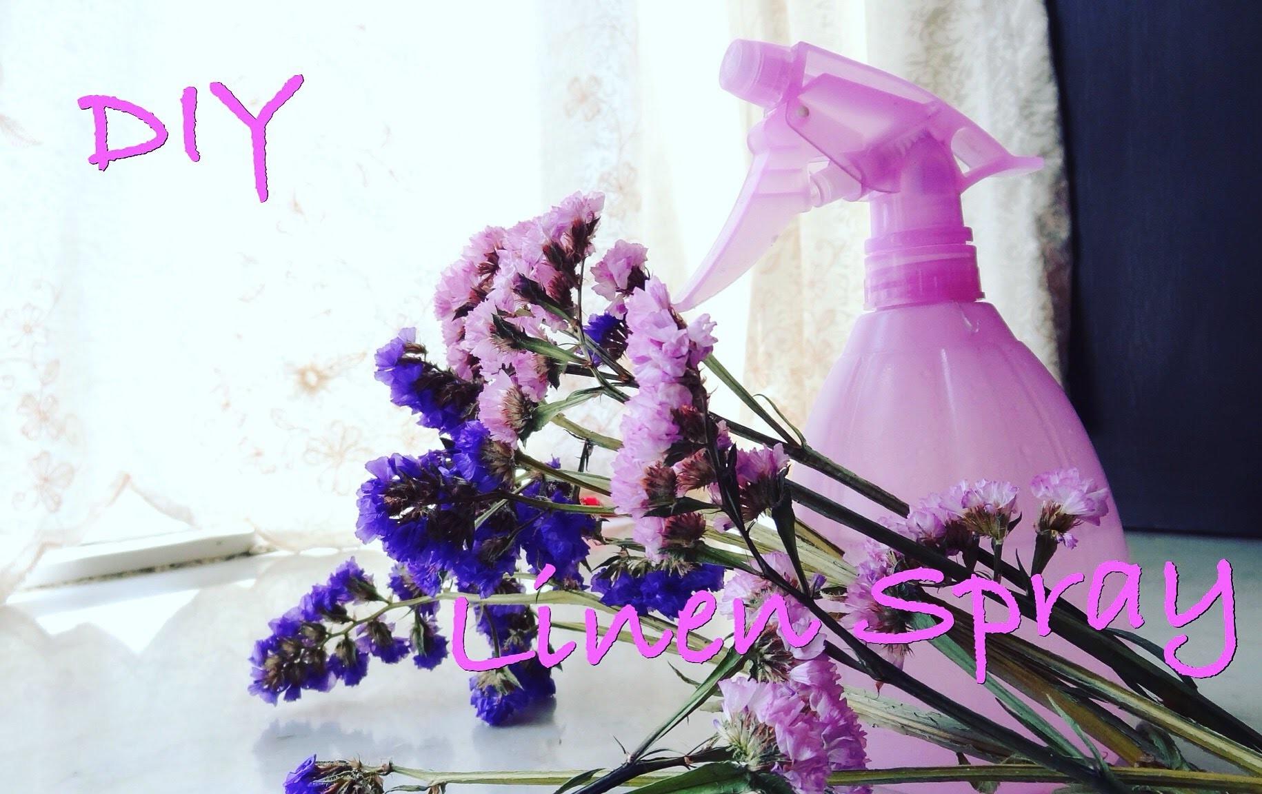 DIY | Linen Spray.Room Freshener