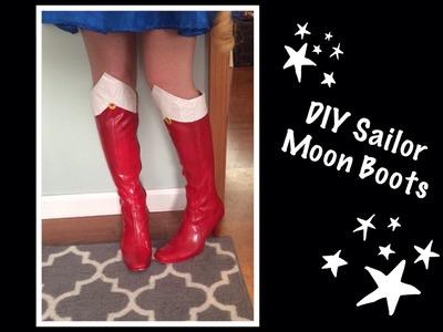 DIY Sailor Moon Boots