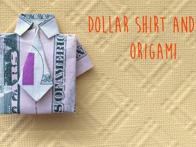 Dollar Shirt and NeckTie Origami Tutorial