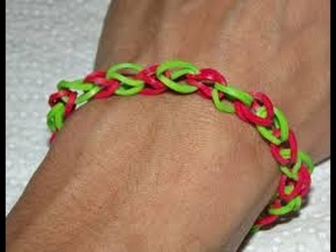 Easy loom band tutorial 1