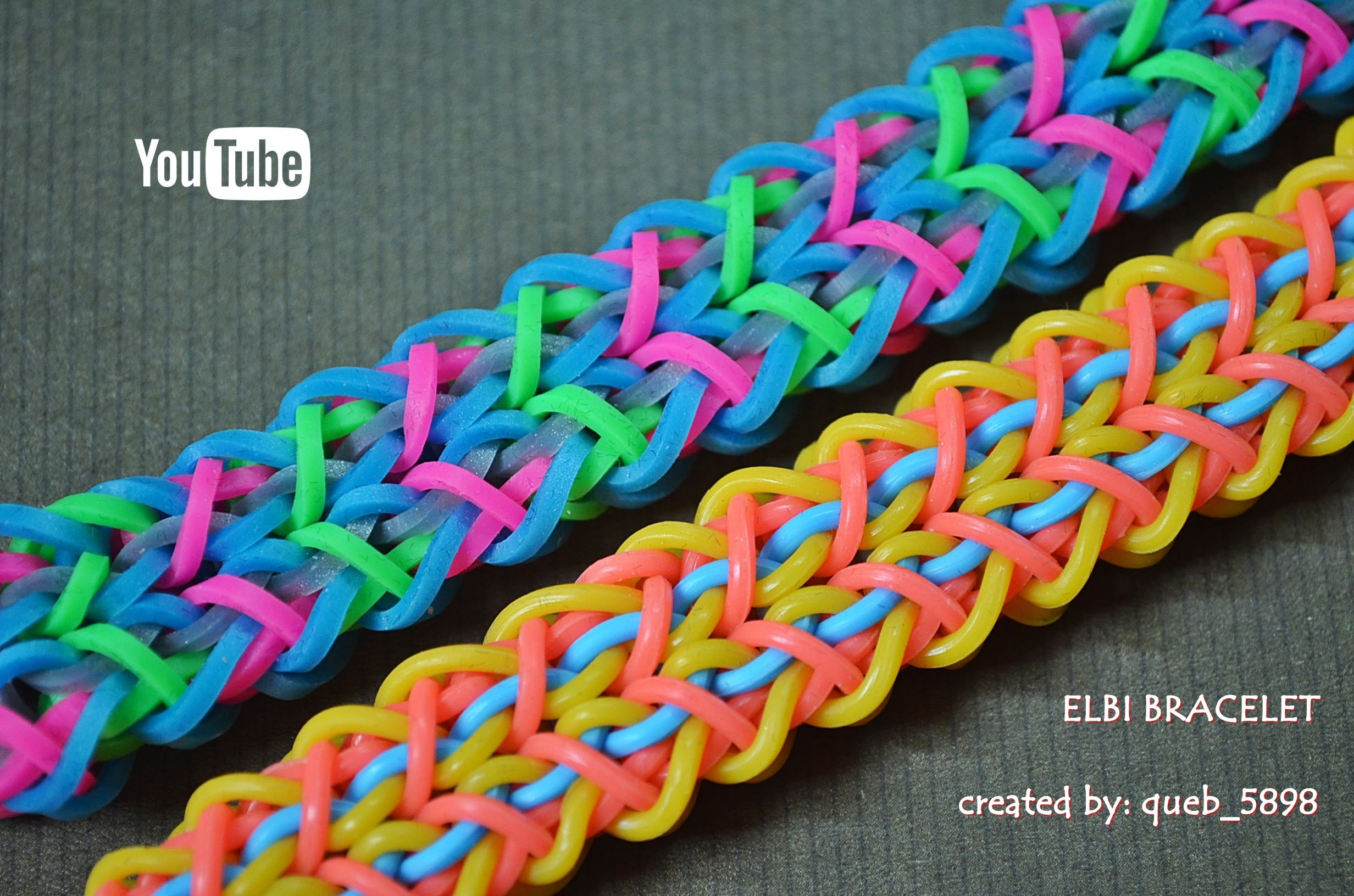 ELBI BRACELET HOOK ONLY DESIGN TUTORIAL