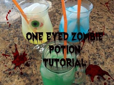 Halloween One Eyed Zombie Potion Tutorial