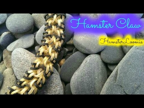 HAMSTER CLAW bracelet tutorial || hook