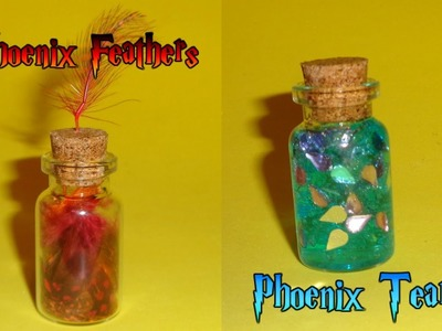 Harry Potter Miniature Bottle Charms DIY Tutorial