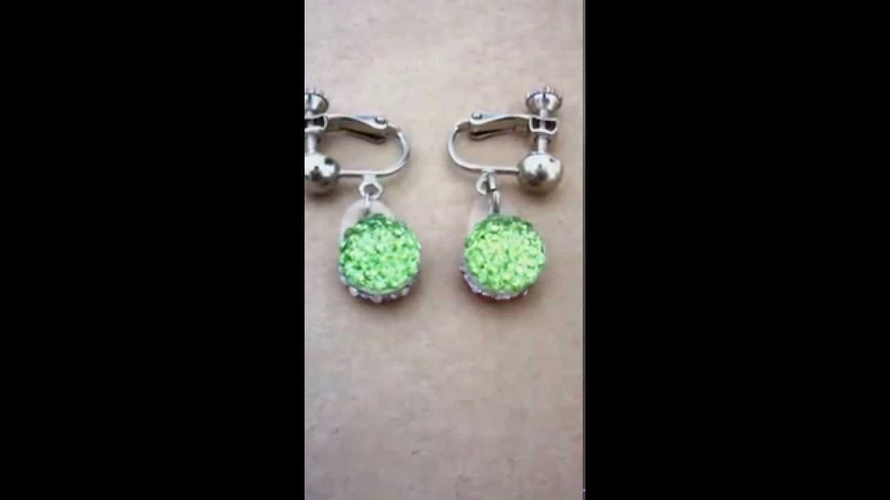 How to make earrings just 5 minutes DIY with 100 yen shop material