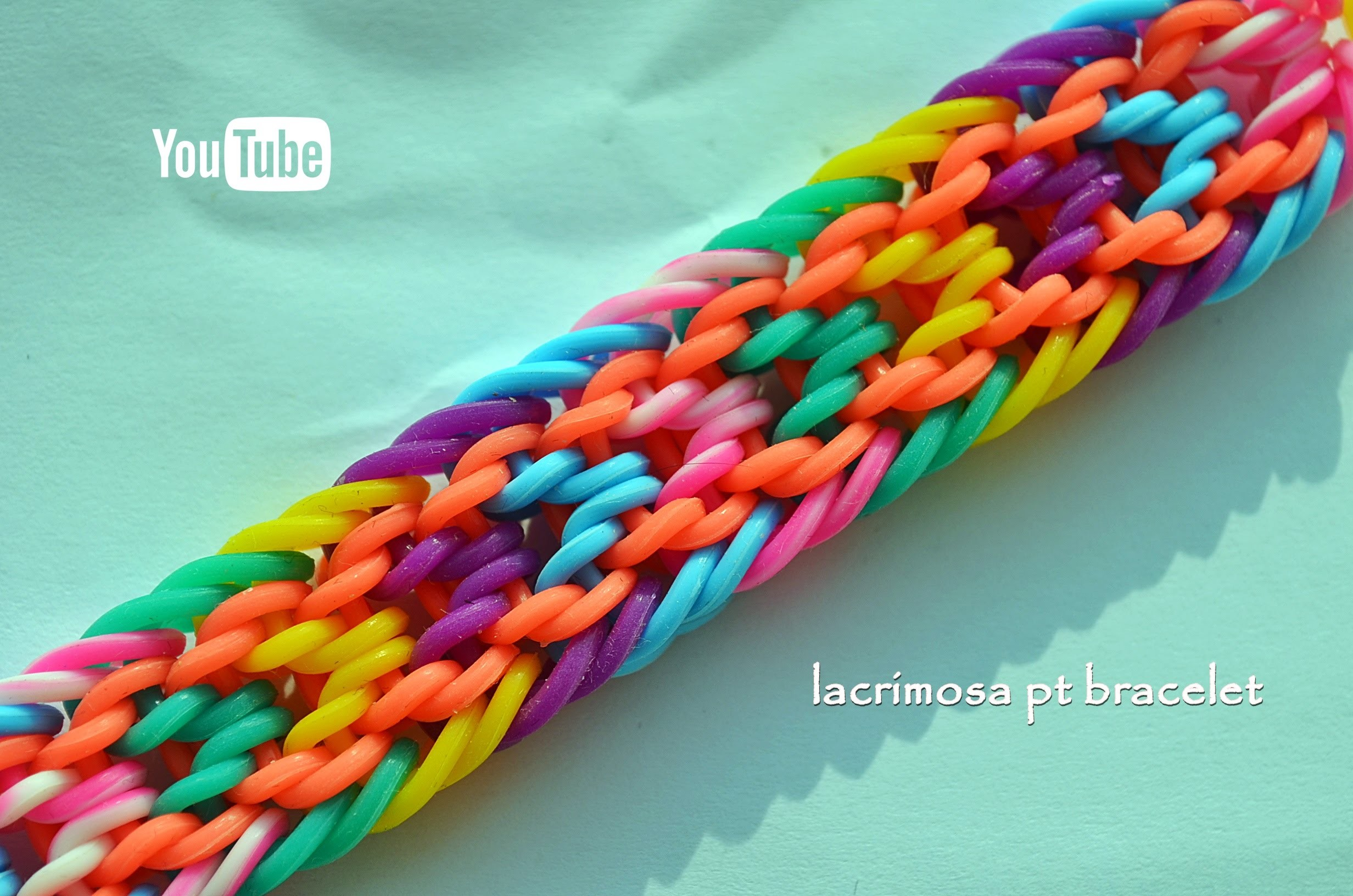 LACRIMOSA PT BRACELET HOOK ONLY DESIGN TUTORIAL
