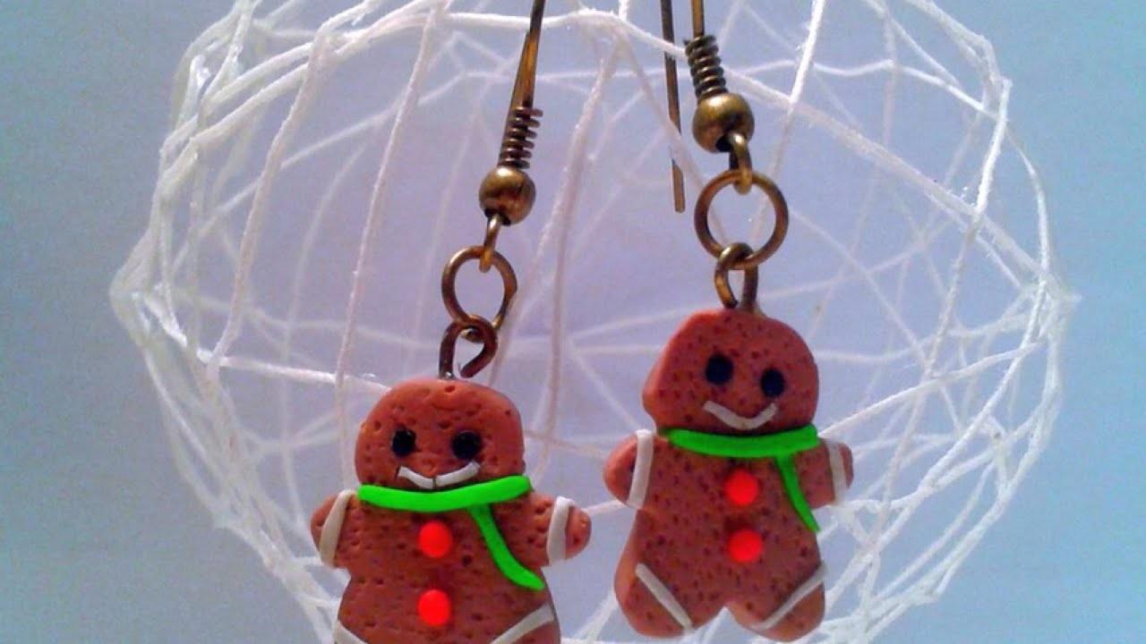 Make Adorable Gingerbread Men Earrings - DIY Style - Guidecentral