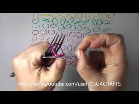 Make HEXAFISH with 1 ONE KIT - How to Tutorial for Rainbow Loom Bracelet