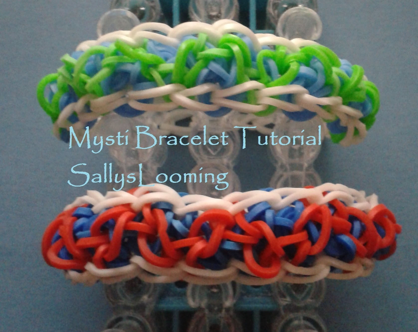 Mysti Bracelet Loom Band Tutorial