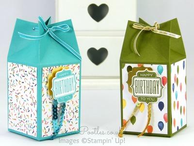Pinch Close Birthday Box Tutorial