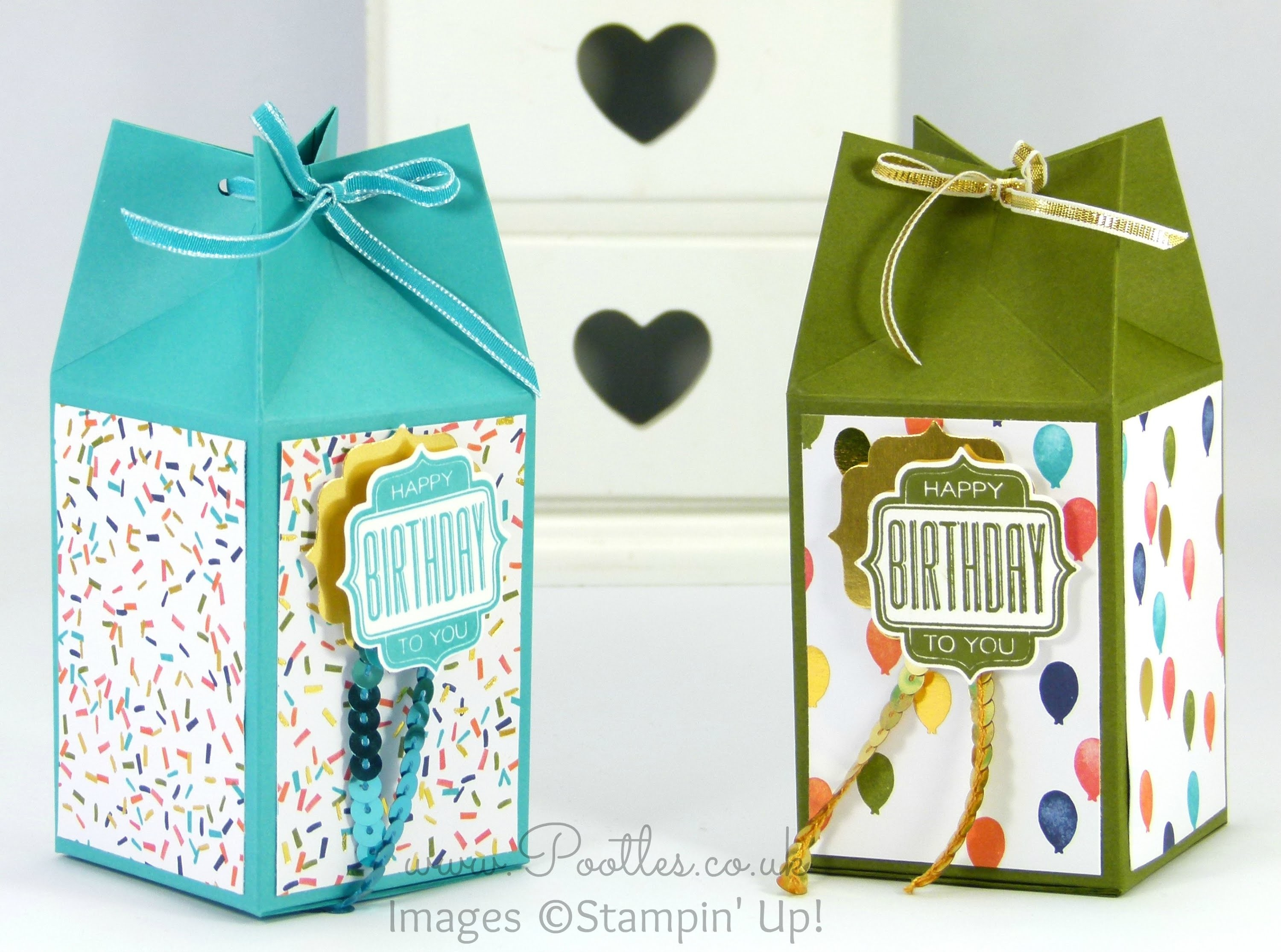 Pinch Close Birthday Box Tutorial