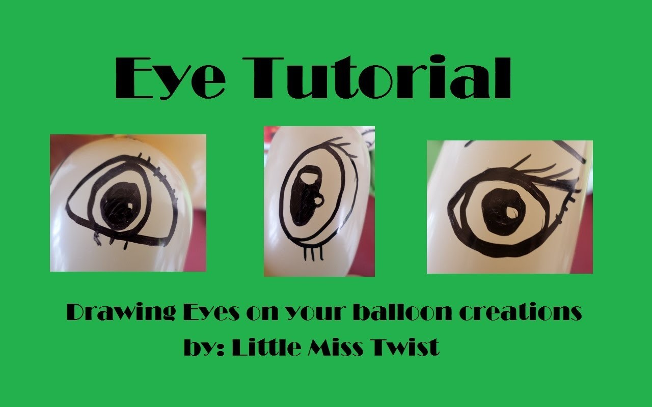 Princess and Pony Eye drawing Tutorial
