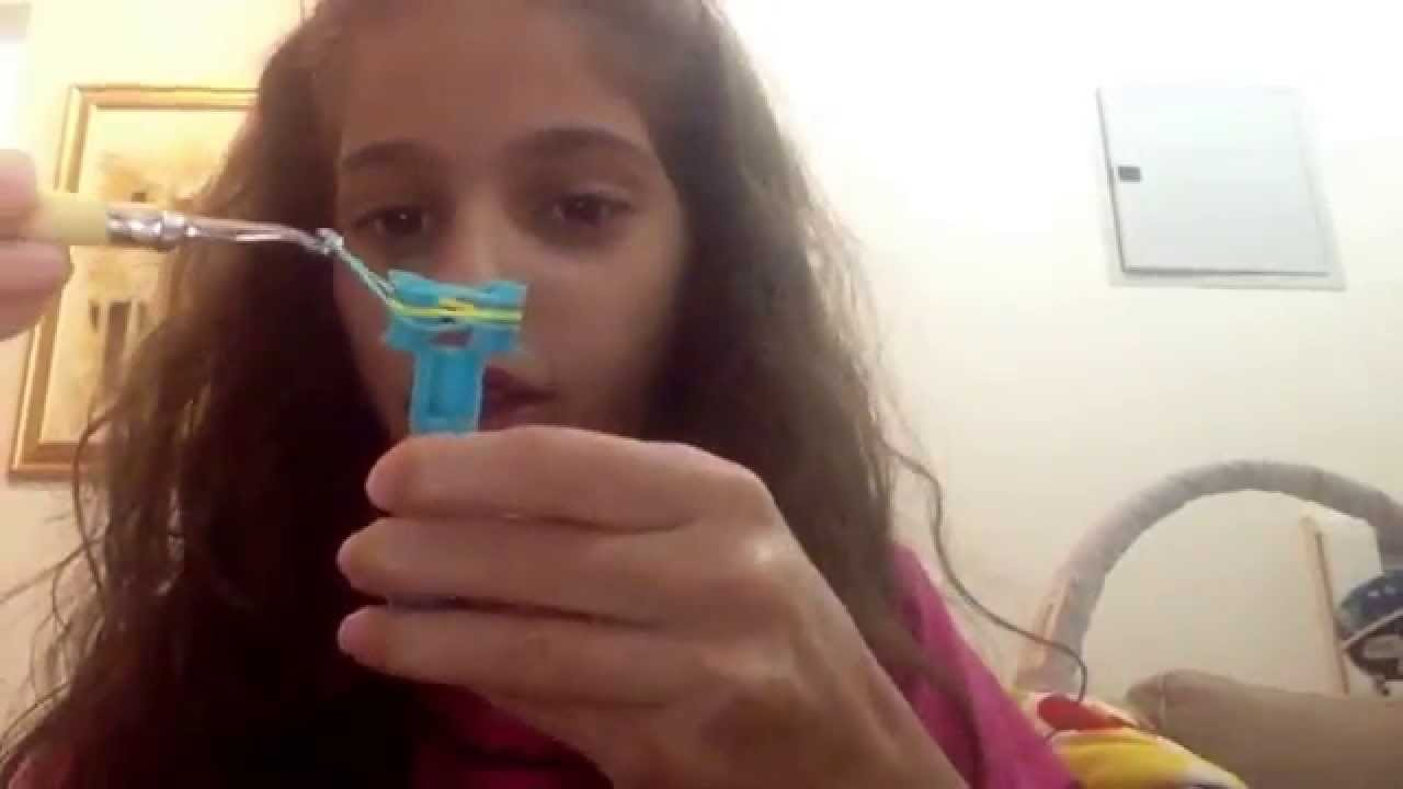 Rainbow Loom Fishtail Bracelet Tutorial
