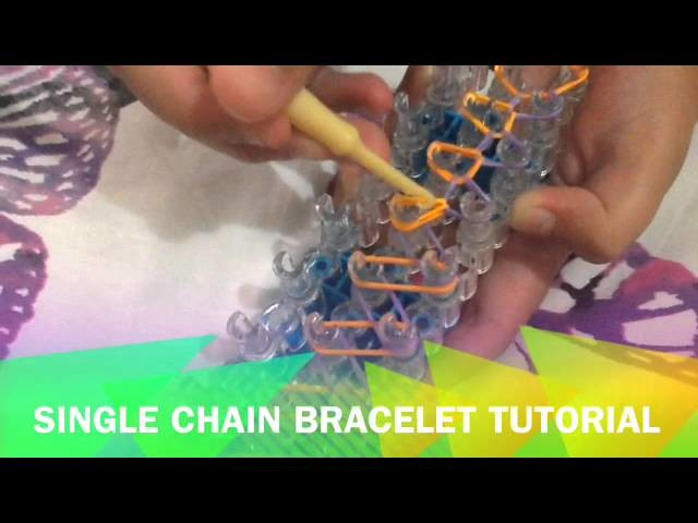 Single chain braclet tutorial