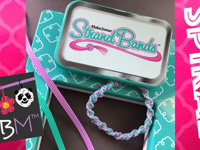 Strand Bands | Unboxing, Review and Spiral Design Bracelet Tutorial