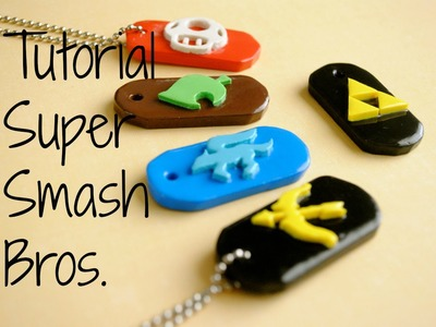 Super Smash Bros. Wii U.3DS Dog Tag Tutorial! (Tutorial de Super Smash Bros. )