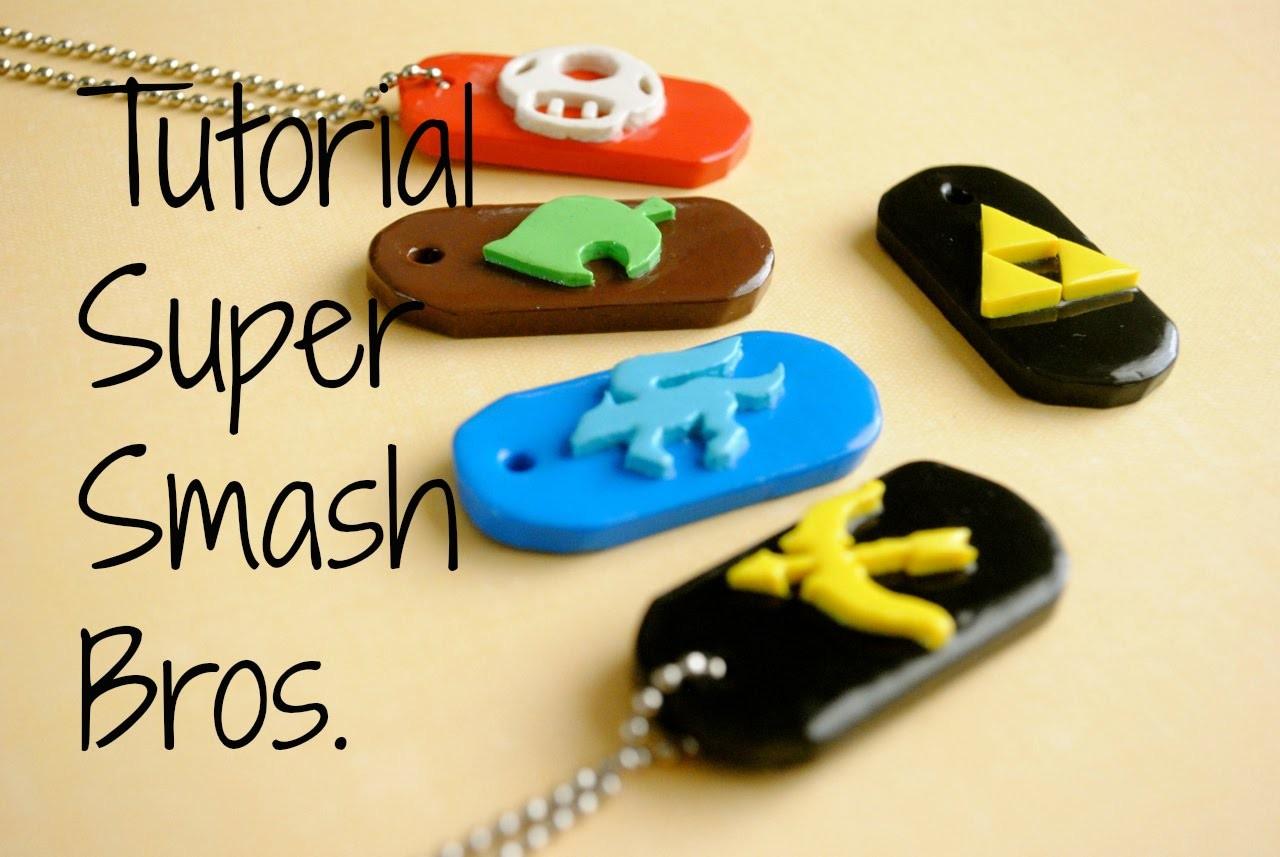 Super Smash Bros. Wii U.3DS Dog Tag Tutorial! (Tutorial de Super Smash Bros. )