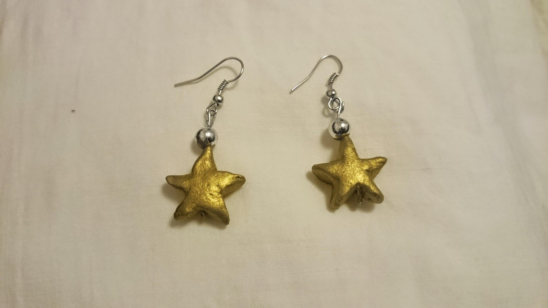 Terracotta earrings | clay earrings | jewellery making tutorial