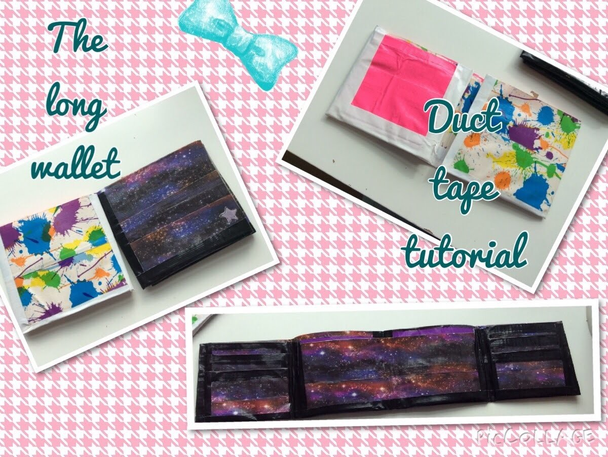 The Long Wallet Duct Tape Tutorial (original Design)