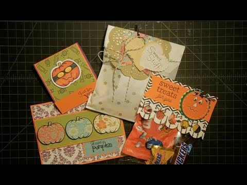 Three Fall Treats and A Card Tutorial