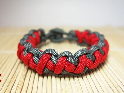 Tomahawk Sinnet Paracord Bracelet Tutorial