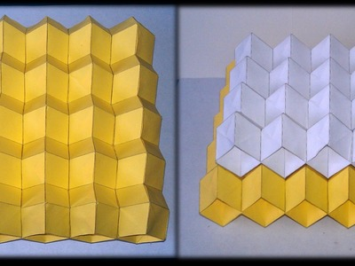 Tutorial 24 - Eggbox Sheet Folding Collapsible In X And Y Rigid In Z