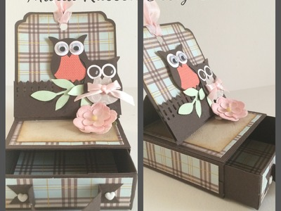 Tutorial ~ Easel Treat Box with a Tag