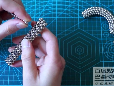 TUTORIAL little tire ring 2 sets ( Zen Magnets, Neoballs, Buckyballs, Nanodots, Neocube)