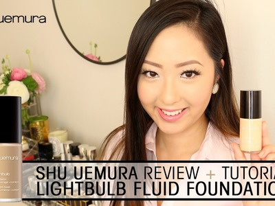 TUTORIAL: Shu Uemura Lightbulb Foundation + Review