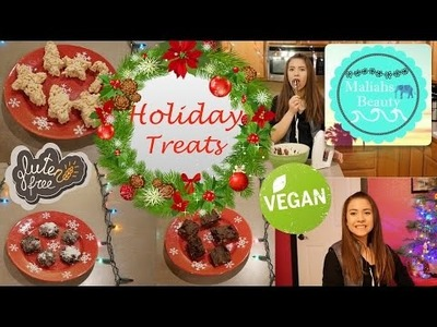 3 Diy Vegan and Gluten Free Christmas Treats | Cookies, Fudge, And Rice Krispies