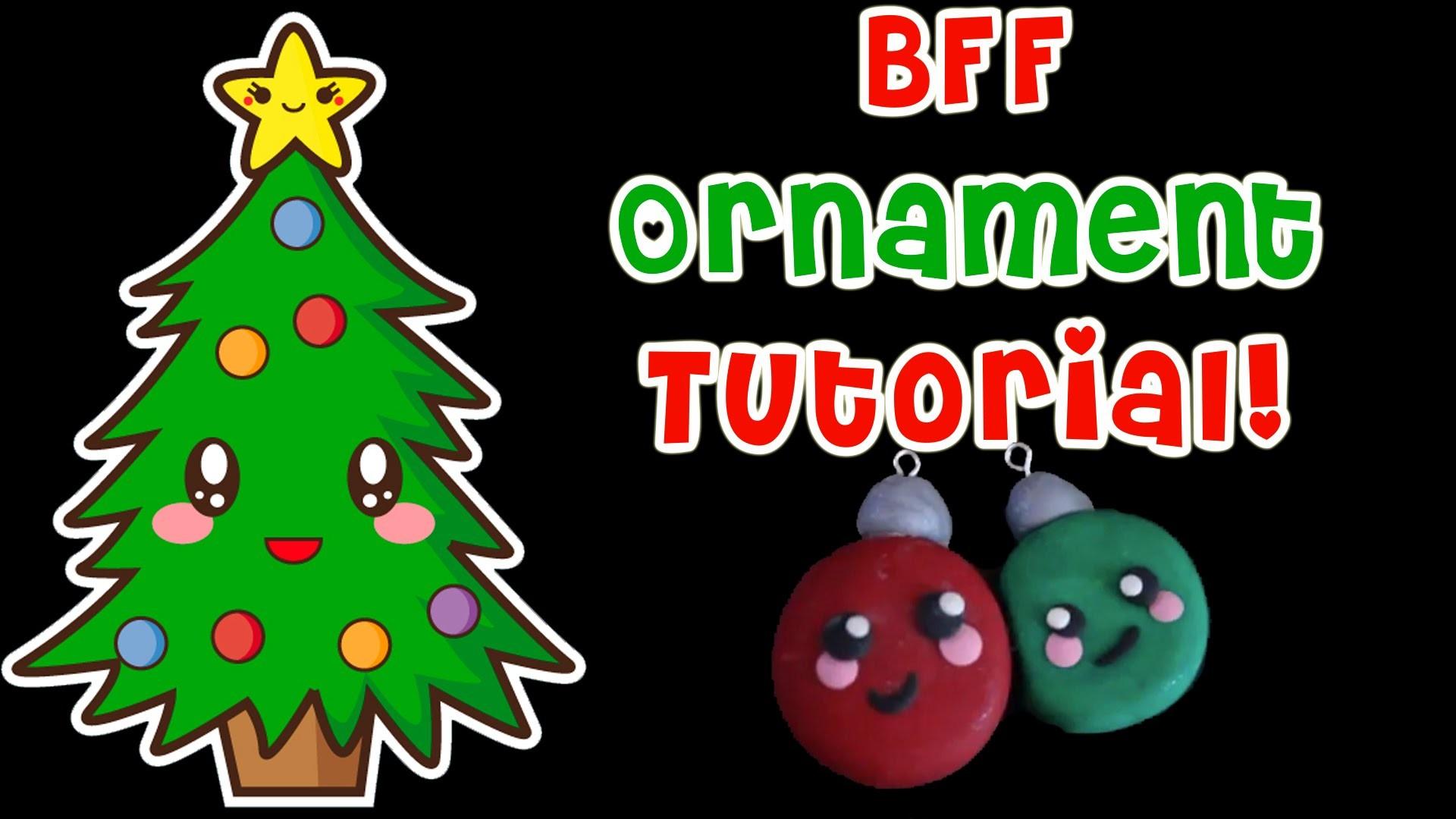BFF Christmas Ornament - DIY Spells Kawaii!