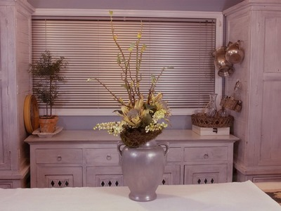 Classic Urn Berry and Protea Arrangement Floristry Tutorial