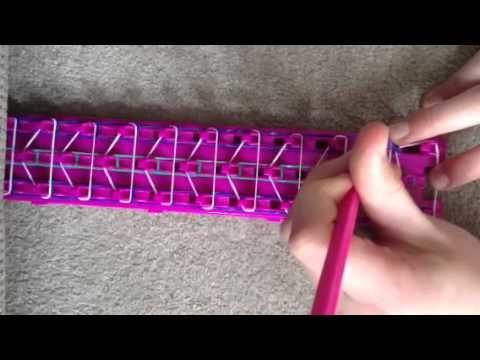 Crazy loom triple single tutorial