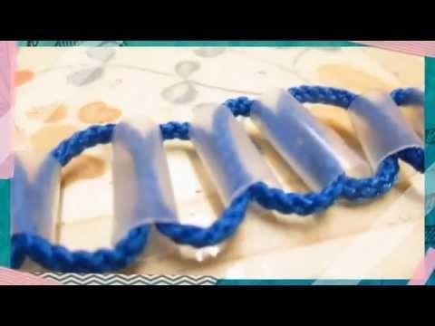 D.I.Y Shoe Lace Straw Bracelet