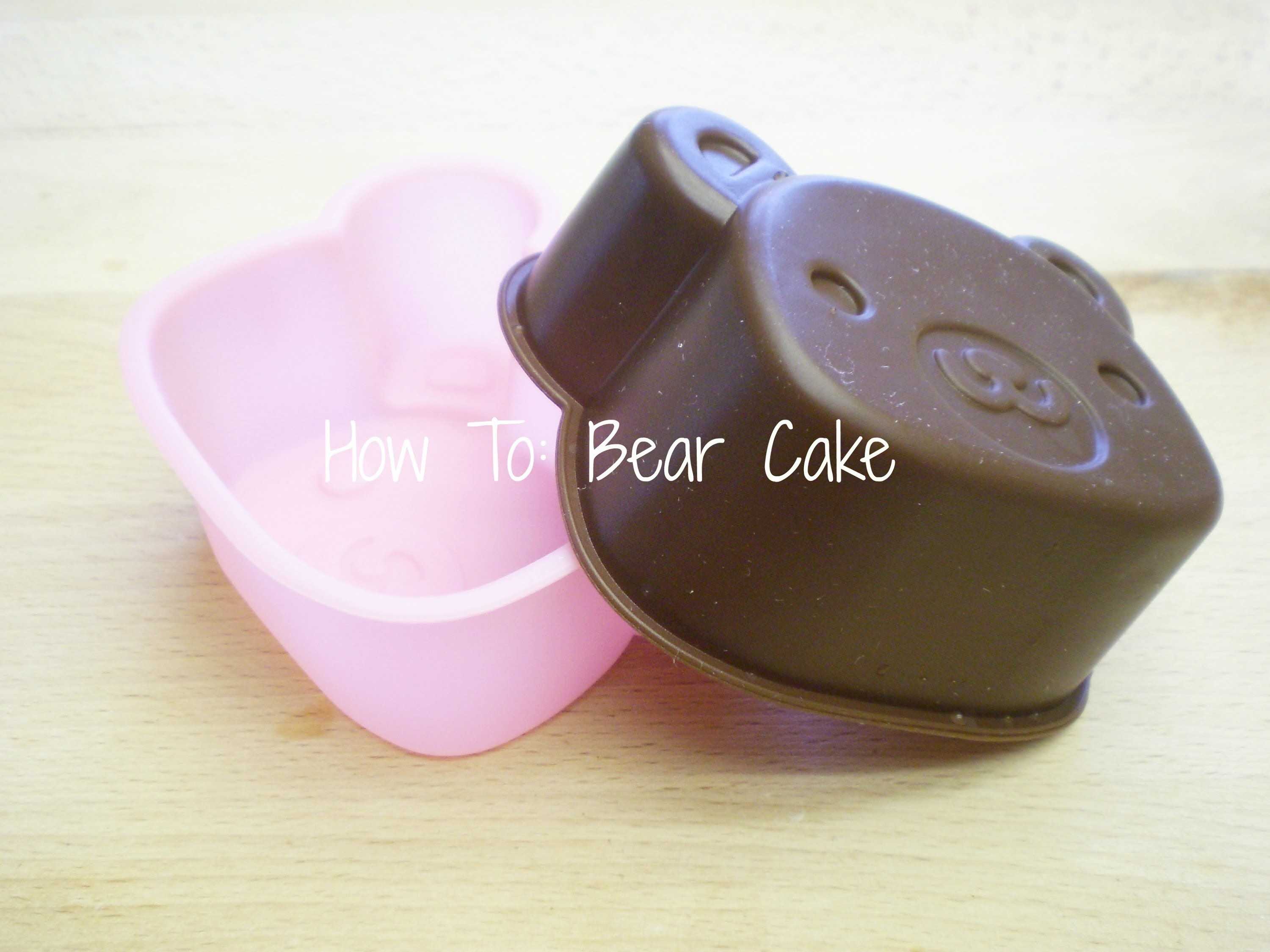 Daiso Bear Cake Tutorial