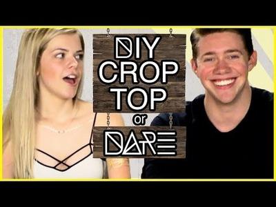 DIY Crop Top?!   DI-Dare w. Jonah Green and Griffin Arnlund